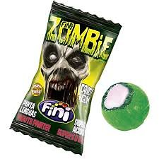 Zombie Candy Gum - Lot de 10