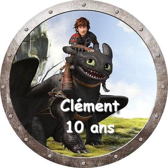 Disque azyme Dragons