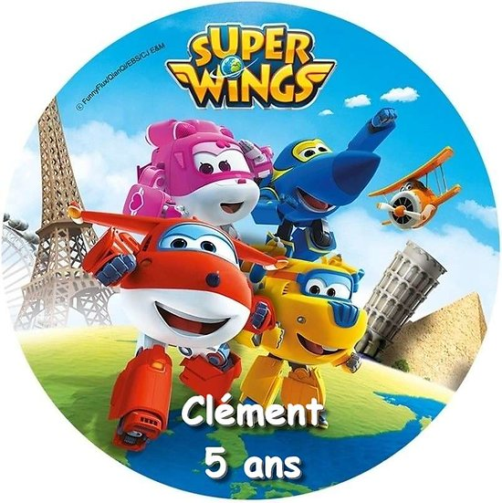 Disque azyme Super Wings