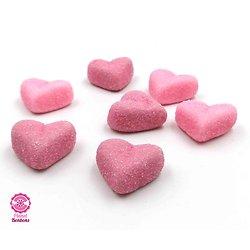 Petit Coeur sucré mix violet/rose