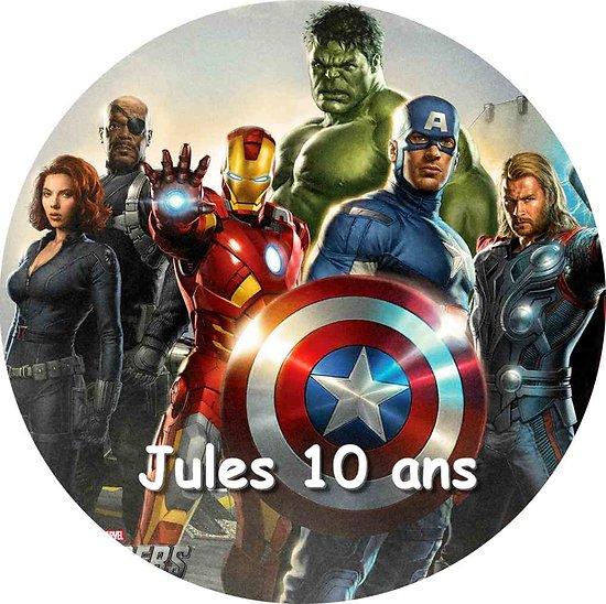 Disque azyme Avengers