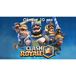 Plaque Azyme Clash Royale