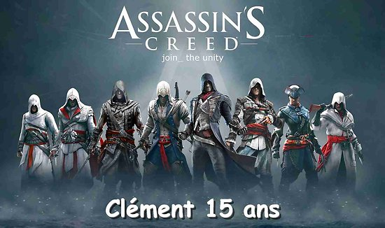 Plaque Azyme Assassin's Creed