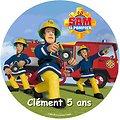 Disque azyme Sam Le Pompier