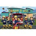 Plaque Azyme Sam Le Pompier