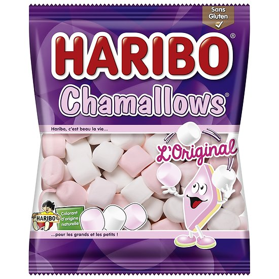 Chamallows Haribo L'Original 100g