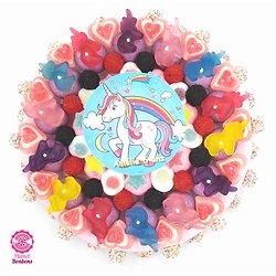Gâteau de bonbons licorne 320mm