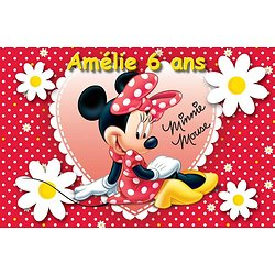 Plaque Azyme Minnie