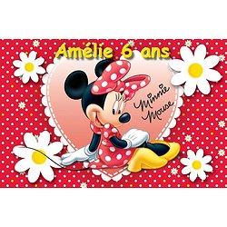 Plaque Azyme Minnie