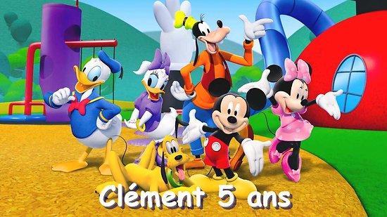 Plaque Azyme Mickey et ses amis