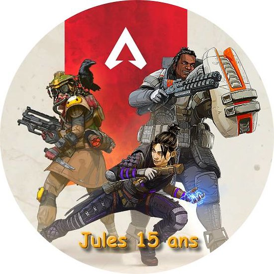 Disque azyme Apex Legends