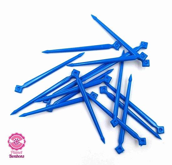 Pic à bonbons Bleu grand modèle- sachet de 125