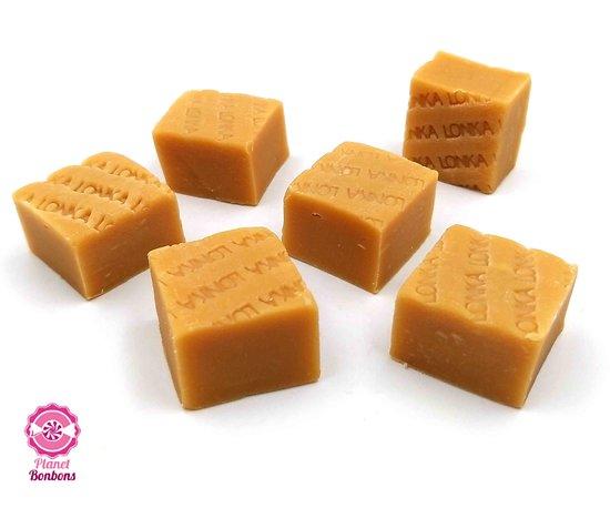 Fudge caramel vanille