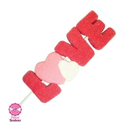 Brochette Mallow Love 35g