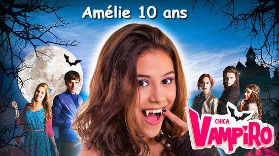Plaque Azyme Chica Vampiro