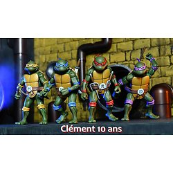 Plaque Azyme Tortue Ninja
