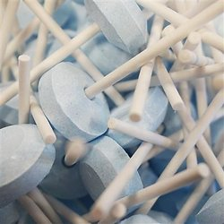 Sucettes lollies bleu - lot de 10