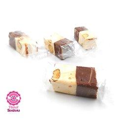 Papillote Nougat duo chocolat vanille 250g