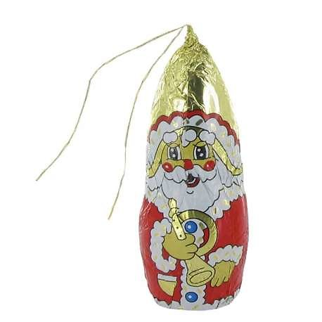 Père Noël chocolat sous alu 25g (9cm)