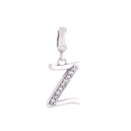 Pendentif Lettre Z Argent 925