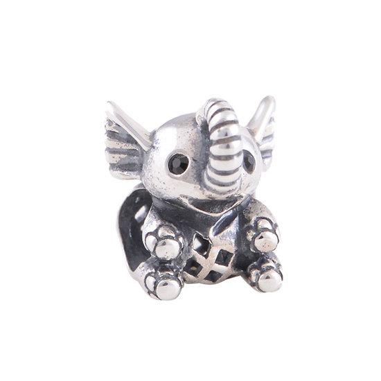Charm Éléphant Argent 925