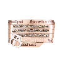 We Positive Bracelet Moon Light Gold