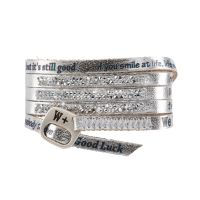 We Positive Bracelet Moon Light Silver