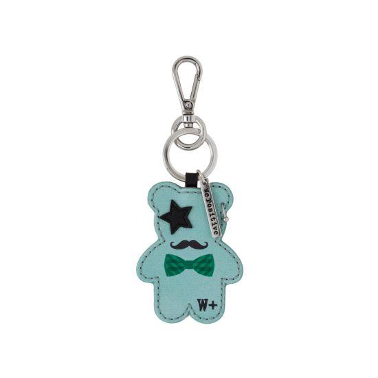 Porte clés We Positive Teddy Rock Turquoise
