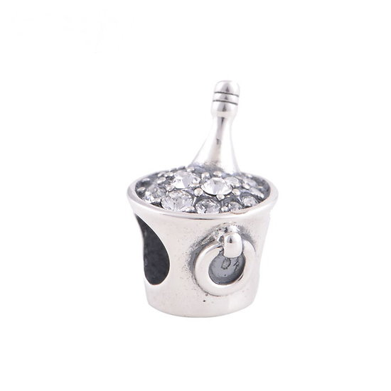Charm Champagne Argent 925