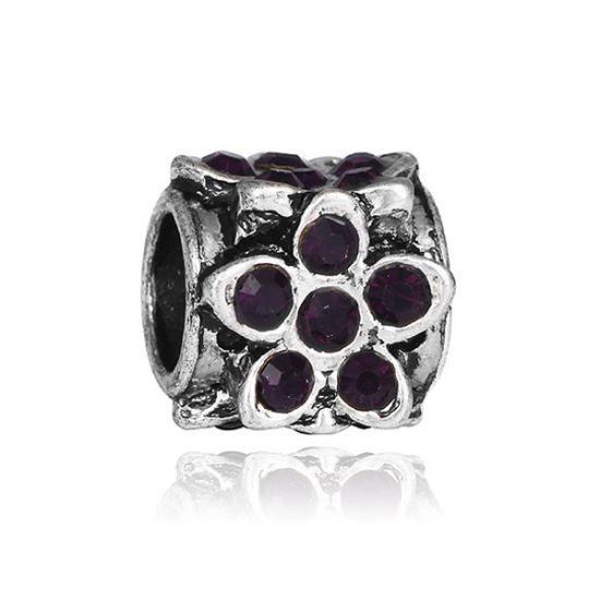 Charm Fleur violet