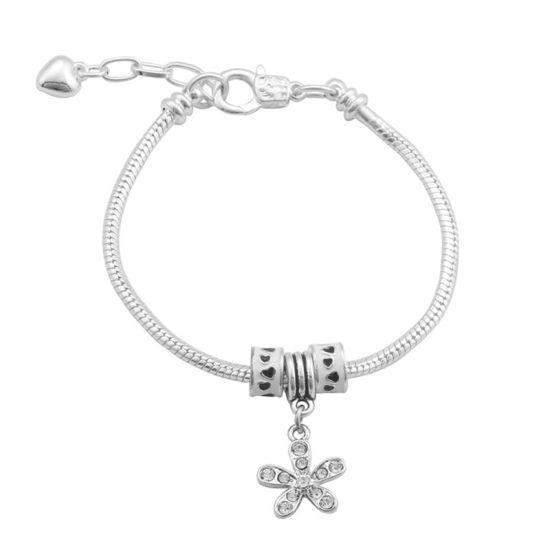 Bracelet Charm Innocence (taille réglable 19 à 23cm)