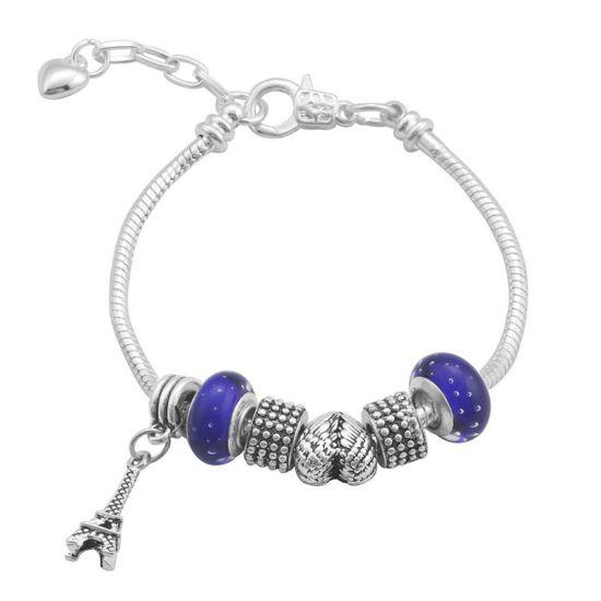 Bracelet Charm Paris (taille réglable 19 à 23cm)