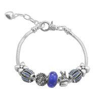 Bracelet Charm intrépide (taille réglable 19 à 23cm)