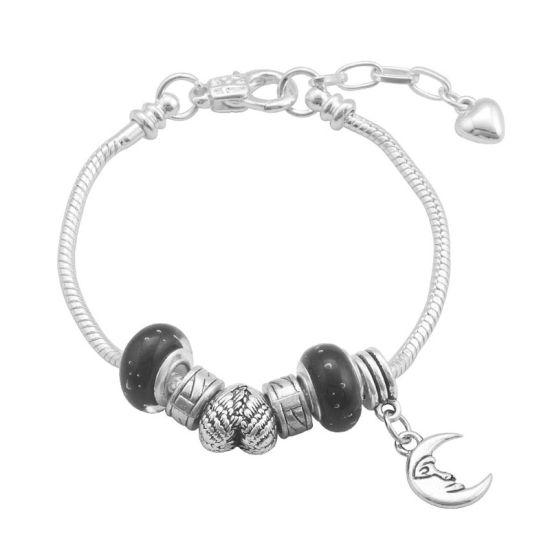 Bracelet Charm lunaire (taille réglable 19 à 23cm)
