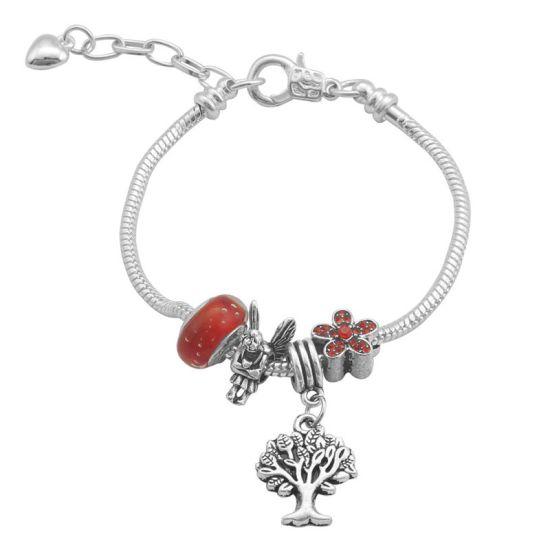 Bracelet Charm Féerique (taille réglable 19 à 23cm)