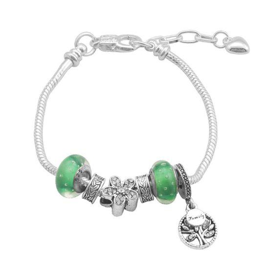 Bracelet Charm Nature (taille réglable 19 à 23cm)