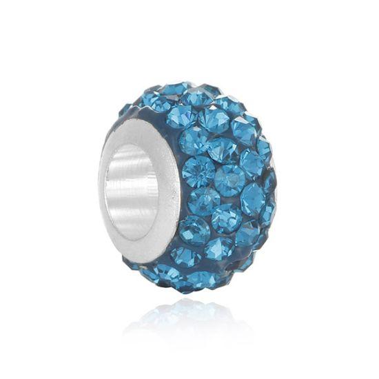Charm Pavé bleu