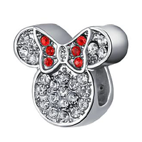 Charm Disney Minnie brillant