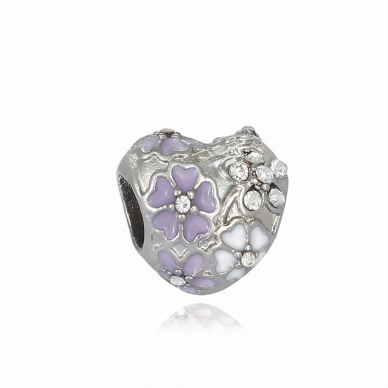 Charm Torrent d'Amour violet