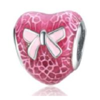 Charm Promesse d'amour rose