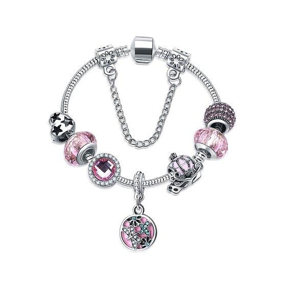 Bracelet Charm Rêve de princesse 18 cm