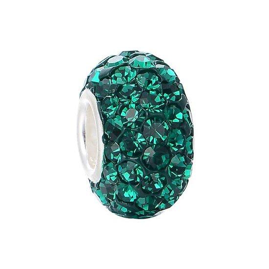 Perle Pavé Vert Émeraude S925