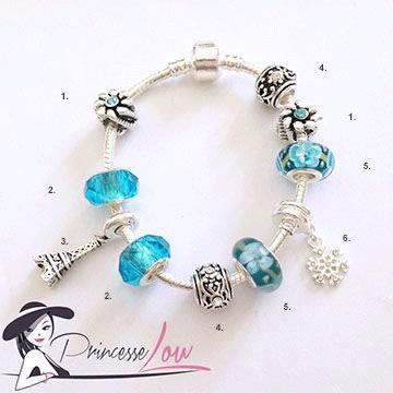 bracelet charms-Audrey