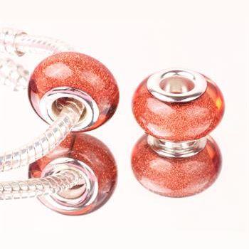 Perle à Paillettes Cuivre