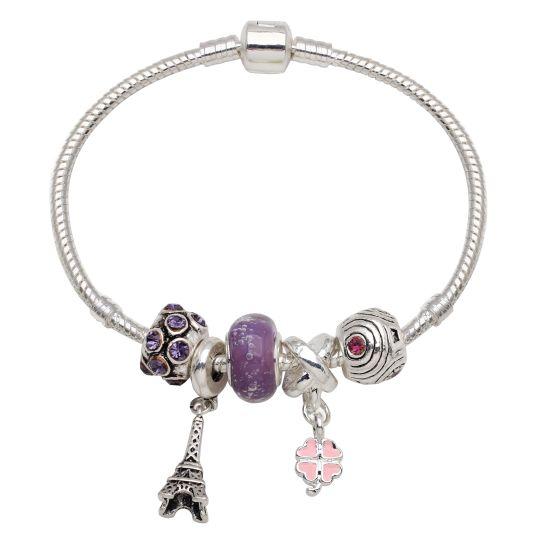 Bracelet I Love Paris 19 cm