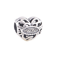 925 Sterling silver Mum I love you Charm