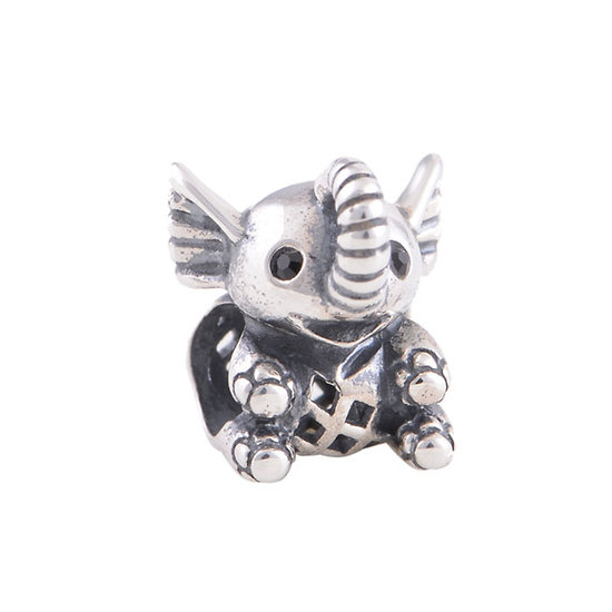 925 Sterling silver Elephant Charm