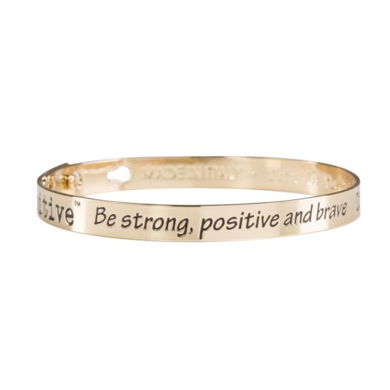 We Positive Bracelet Friends Gold