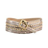 We Positive Bracelet Holidays Gold