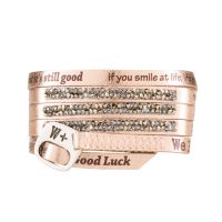 We Positive Bracelet Moon Light Gold
